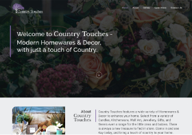 Country Touches Website